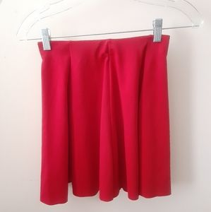 Zara Basic Red Skirt